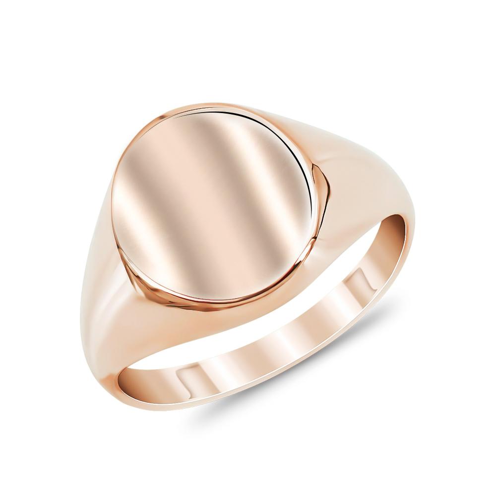 Δαχτυλίδι Σεβαλιέ από Ροζ Χρυσό Κ9 DX873