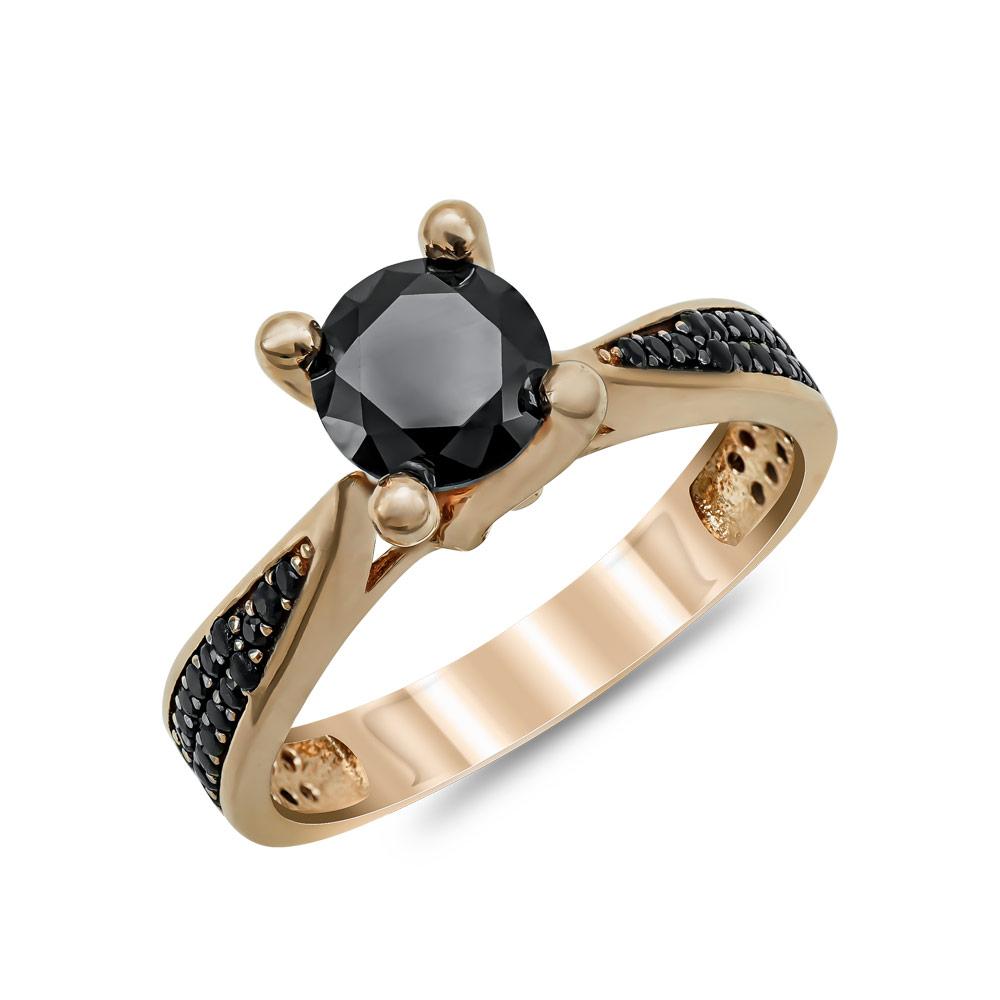 Μονόπετρο Δαχτυλίδι από Ροζ Χρυσό Κ14 DX86148
