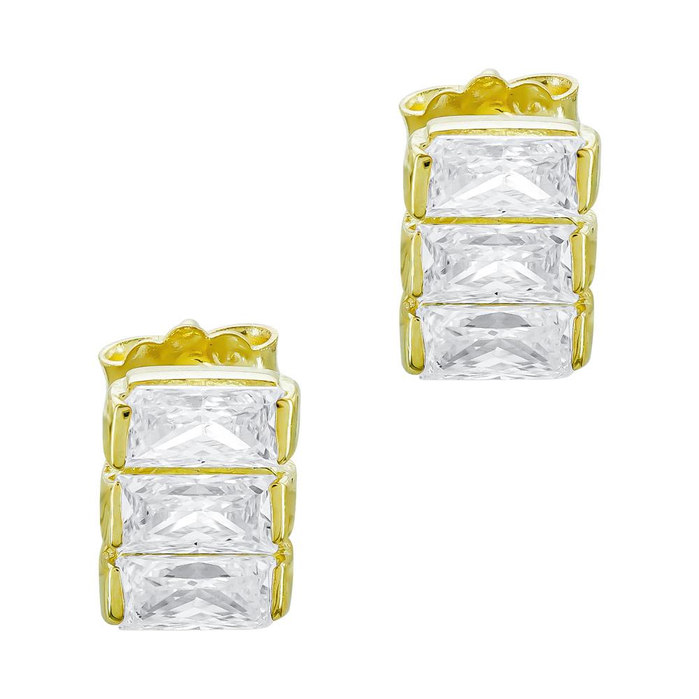 Σκουλαρίκια από Κίτρινο Χρυσό Κ14 SK1238
