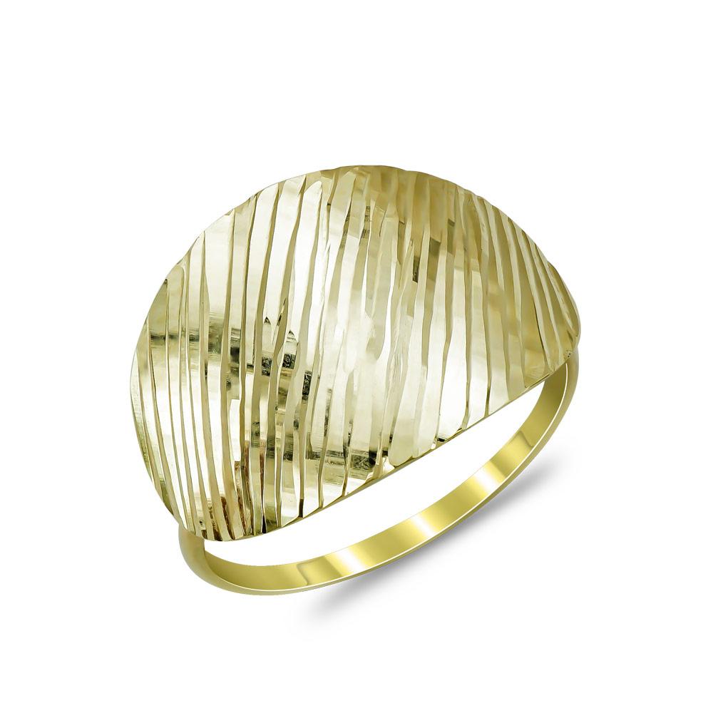 Δαχτυλίδι από Κίτρινο Χρυσό Κ14 DX882