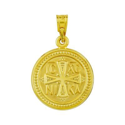 Κωνσταντινάτο Από Κίτρινο Χρυσό Κ14 KN280