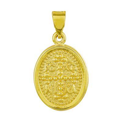 Κωνσταντινάτο Από Κίτρινο Χρυσό Κ14 KN282