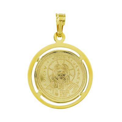 Κωνσταντινάτο Από Κίτρινο Χρυσό Κ14 KN286