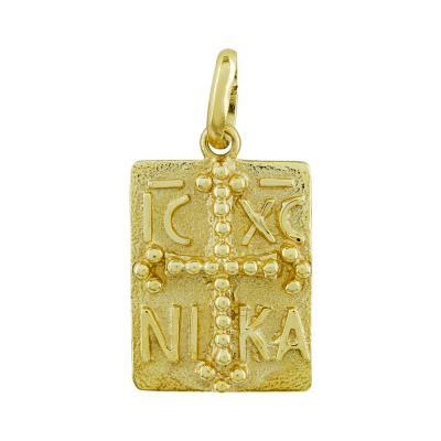 Κωνσταντινάτο Από Κίτρινο Χρυσό Κ14 KN290