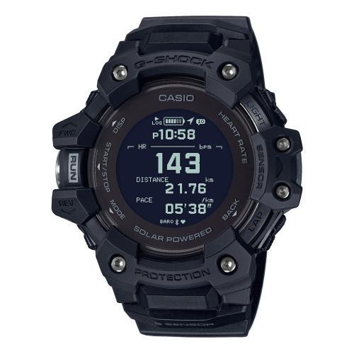CASIO G-SHOCK Smartwatch G-Squad Black Rubber Strap GBD-H1000-1ER