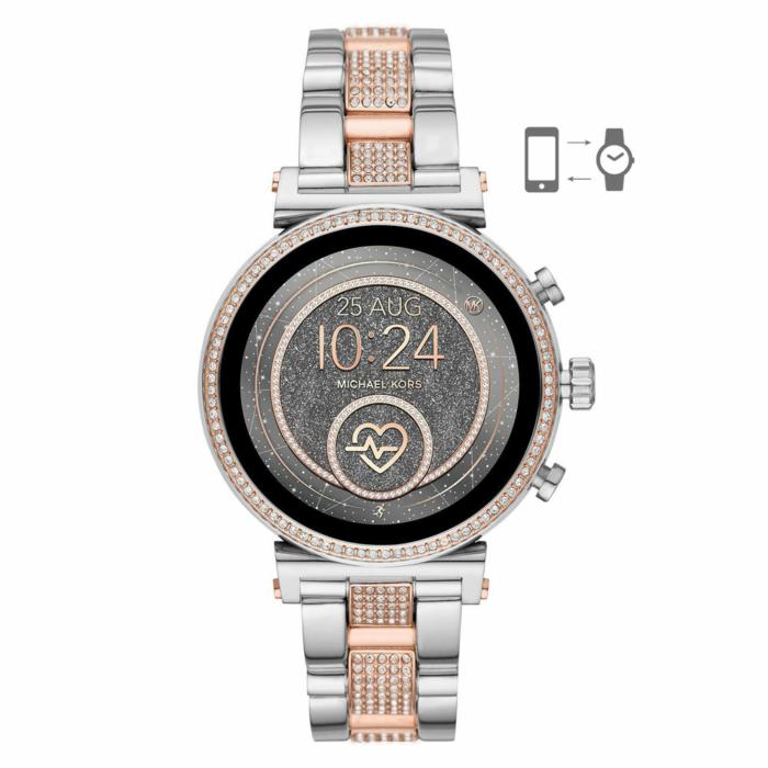 MICHAEL KORS Access Sofie Smartwatch Stainless Steel Bracelet MKT5064