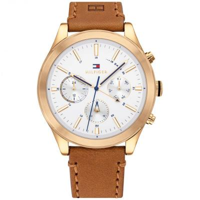 Tommy HILFIGER Ashton Brown Leather Strap 1791742
