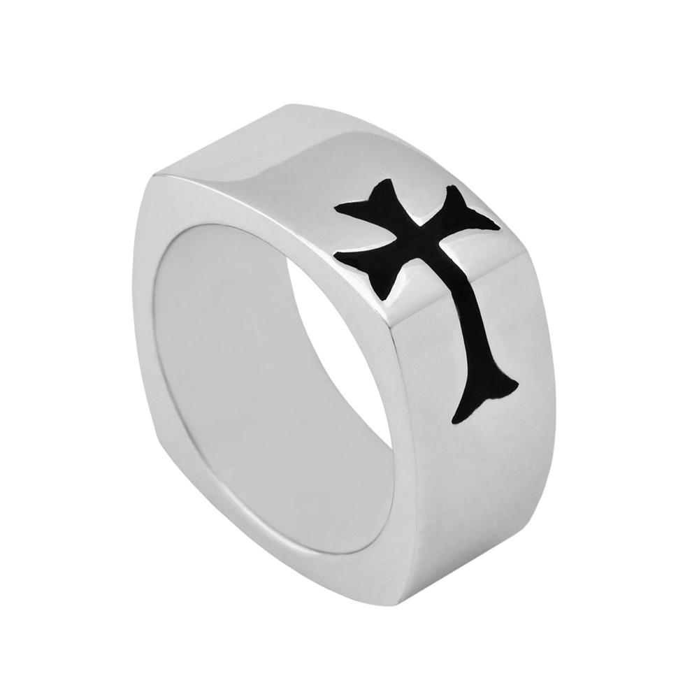 HONOR Δαχτυλίδι από Ασήμι 925 Cross SR9