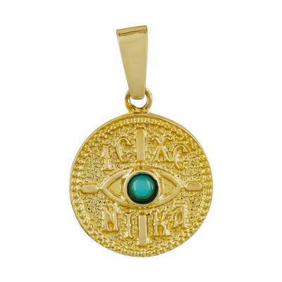 Κωνσταντινάτο Από Κίτρινο Χρυσό Κ14 KN294