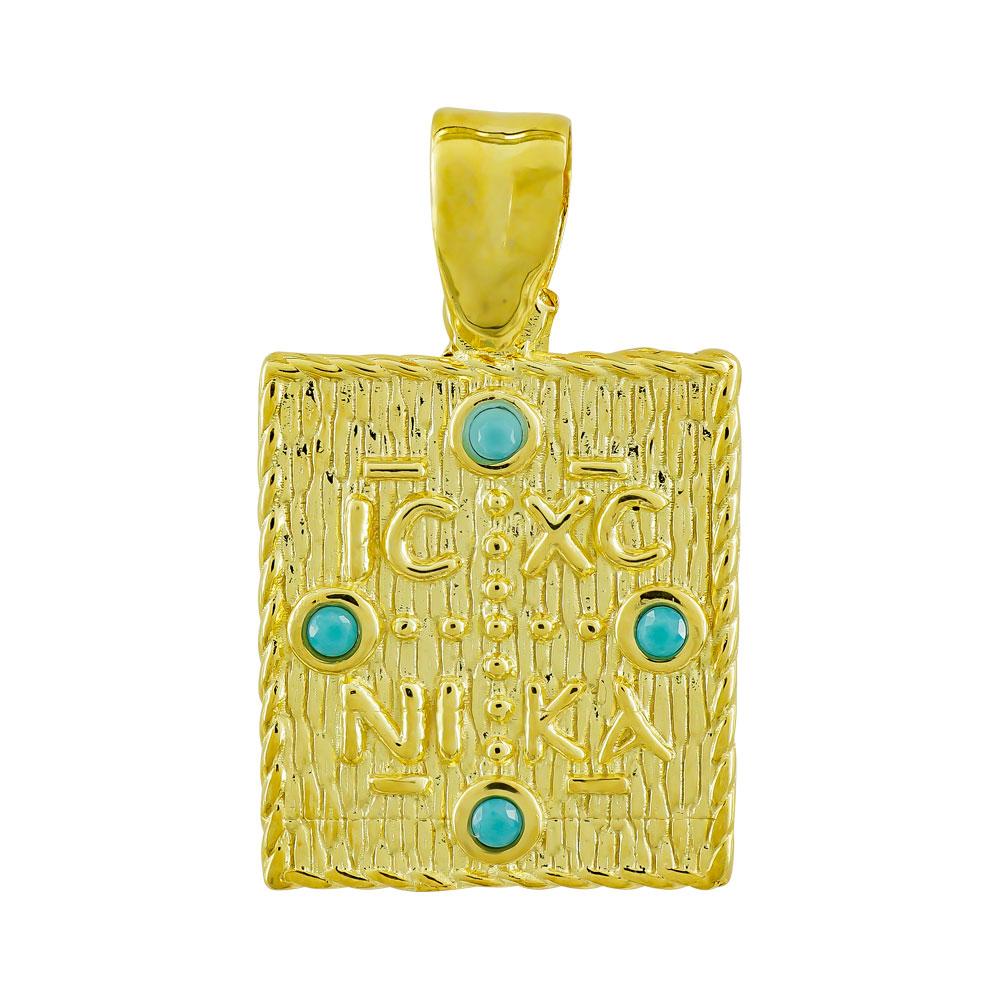 Κωνσταντινάτο Από Κίτρινο Χρυσό Κ9 KN08779