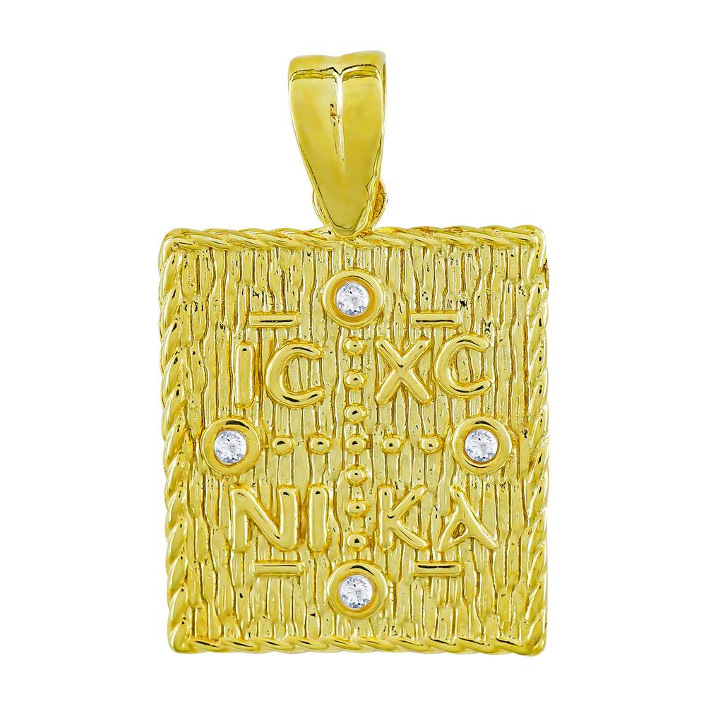 Κωνσταντινάτο Από Κίτρινο Χρυσό Κ9 KN108780
