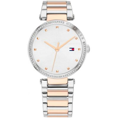 Tommy HILFIGER Lynn Crystals Two Tone Stainless Steel Bracelet 1782236