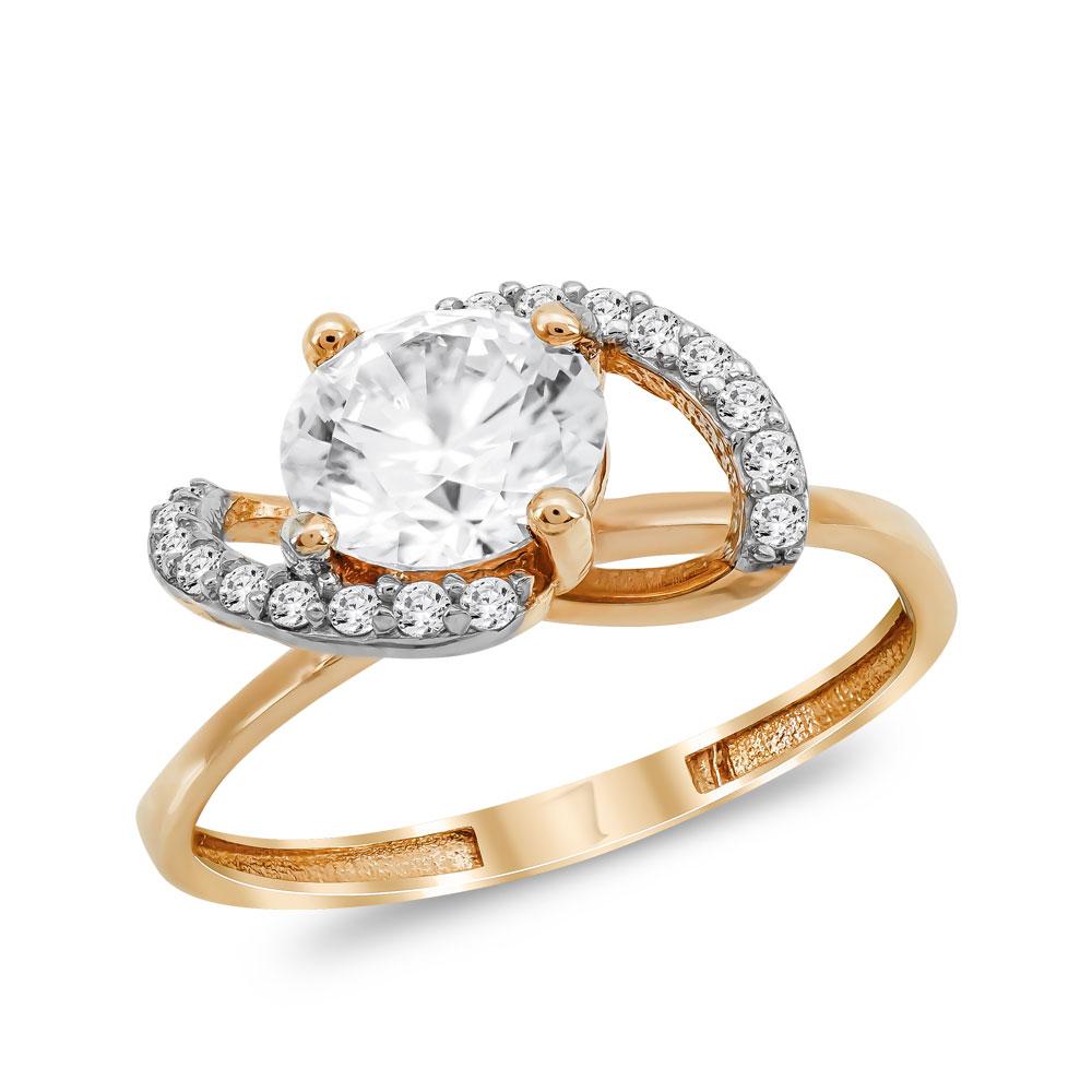 Μονόπετρο Δαχτυλίδι από Ροζ Χρυσό K14 DX1061