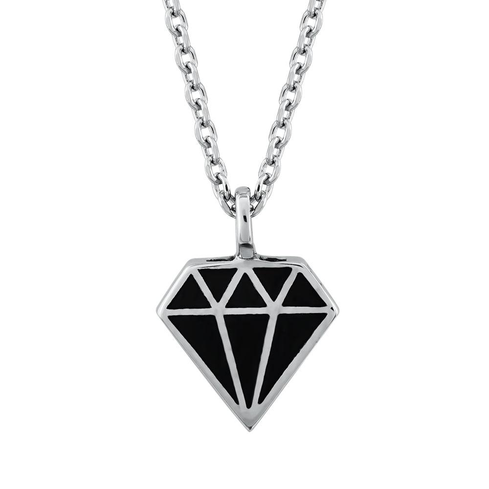 HONOR Κολιέ από Ασήμι 925 Diamond SP207S