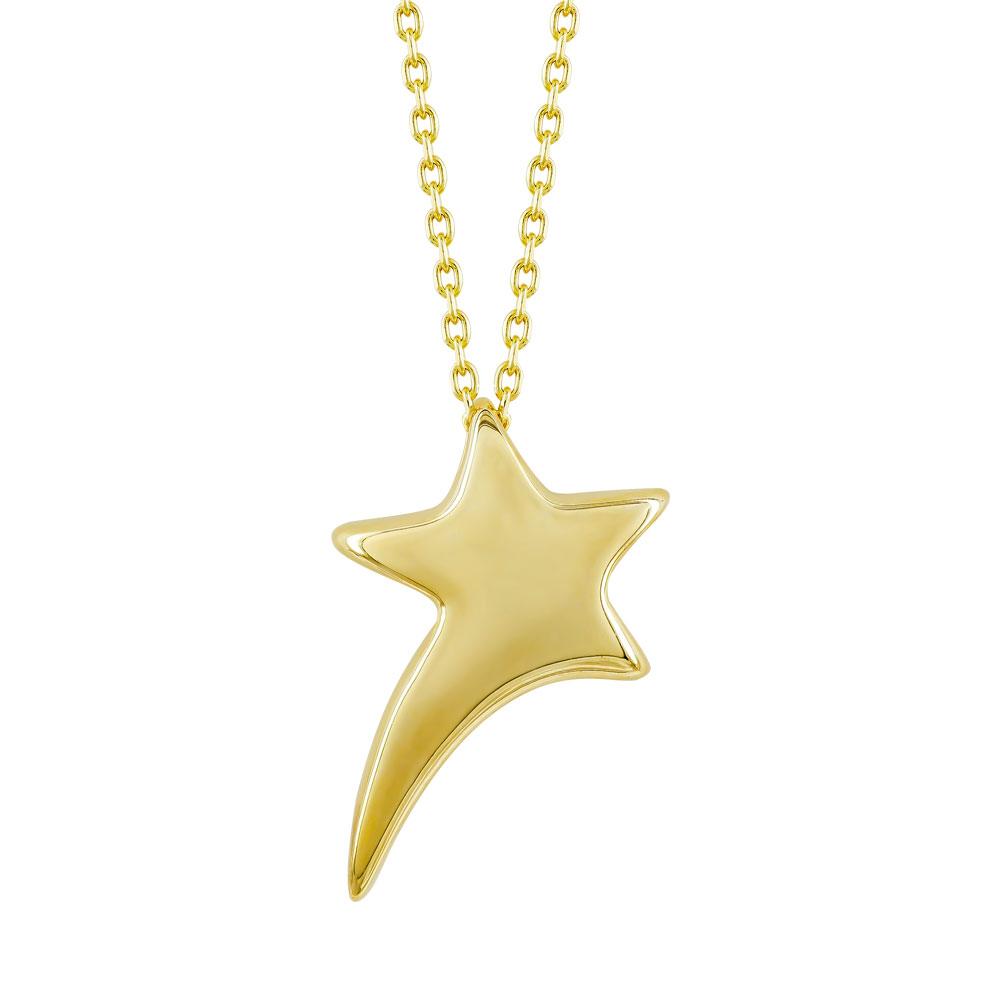 HONOR Κολιέ από Ασήμι 925 Star SP198Y