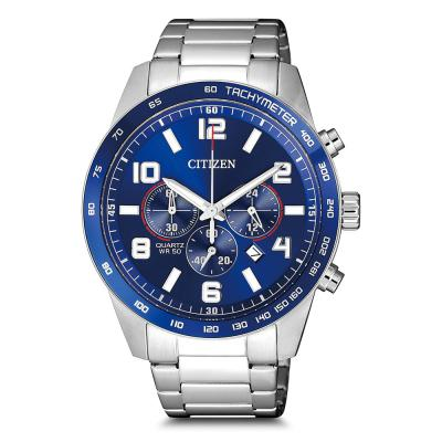 CITIZEN Silver Stainless Steel Chronograph AN8161-50L