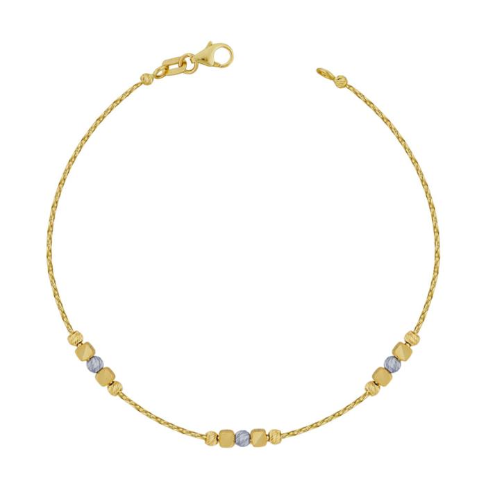 Βραχιόλι από Κίτρινο Χρυσό Κ14 VR107772