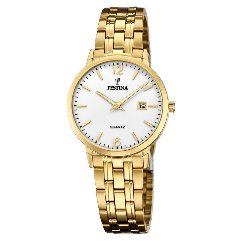 FESTINA Gold Stainless Steel Bracelet F20514-2
