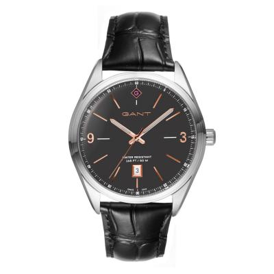 GANT Crestwood Black Leather Strap G141002