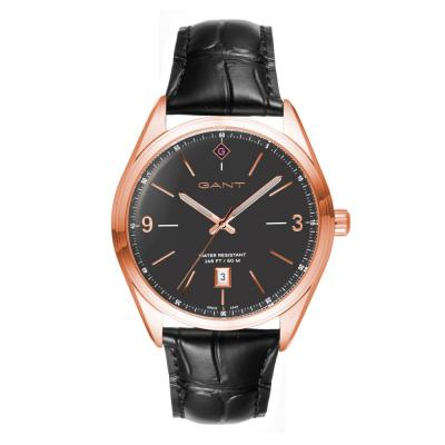 GANT Crestwood Black Leather Strap G141006