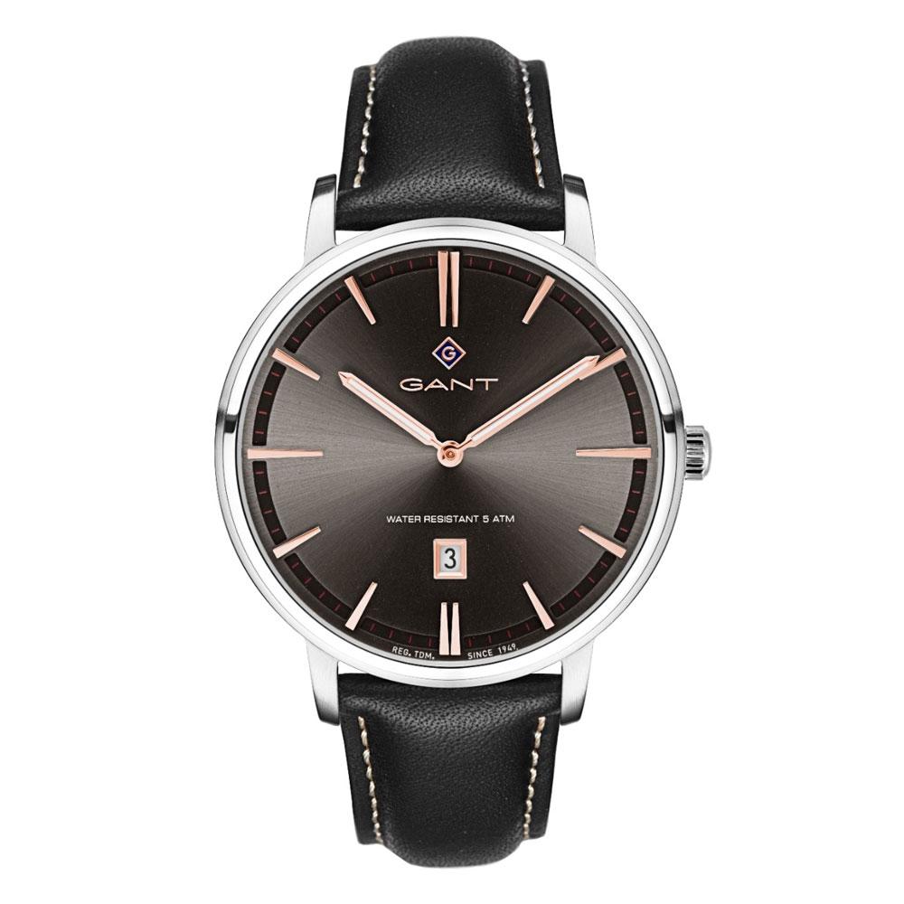 GANT Naples Black Leather Strap G109003