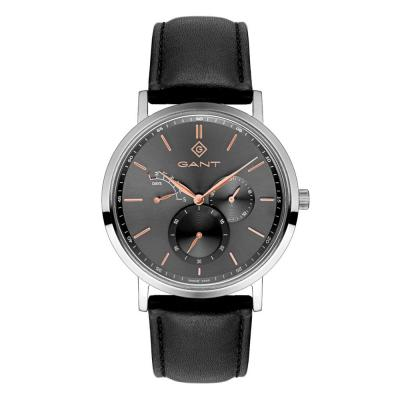 GANT Ashmont Multifunction Black Leather Strap G131001