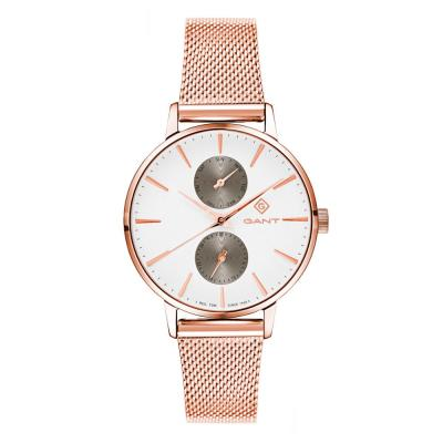 GANT Park Avenue Day-Date Rose Gold Stainless Steel Bracelet G128006