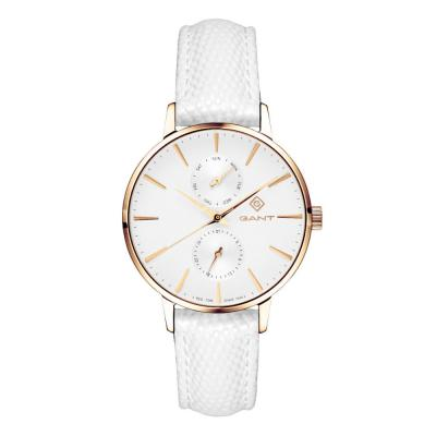 GANT Park Avenue Day-Date White Leather Strap G128009