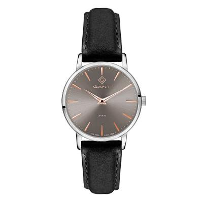 GANT Park Avenue 32 Black Leather Strap G127001