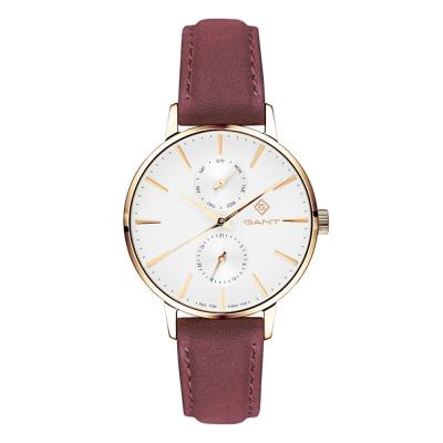 GANT Park Avenue Day-Date Brown Leather Strap G128003