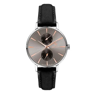 GANT Park Avenue Day-Date Black Leather Strap G128001