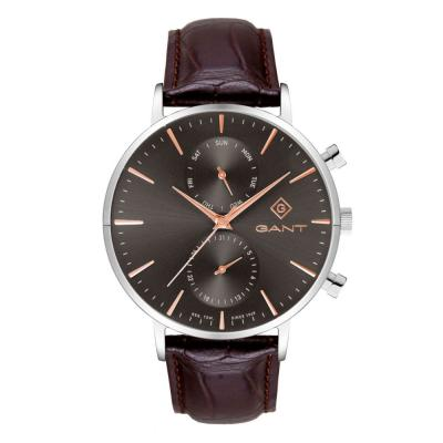 GANT Park Hill Day-Date II Brown Leather Strap G121007