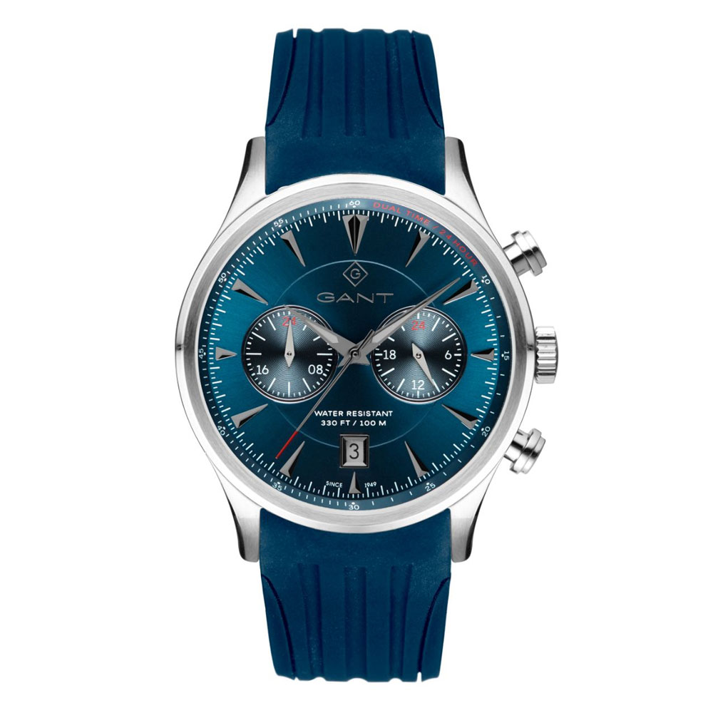 GANT Spencer Multifunction Blue Rubber Strap G135015