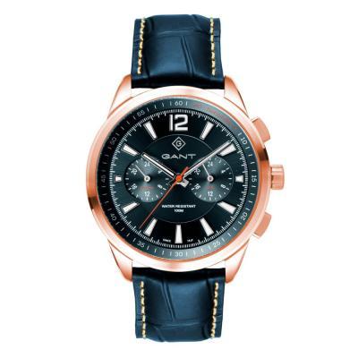 GANT Walworth Blue Leather Multifunction G144006