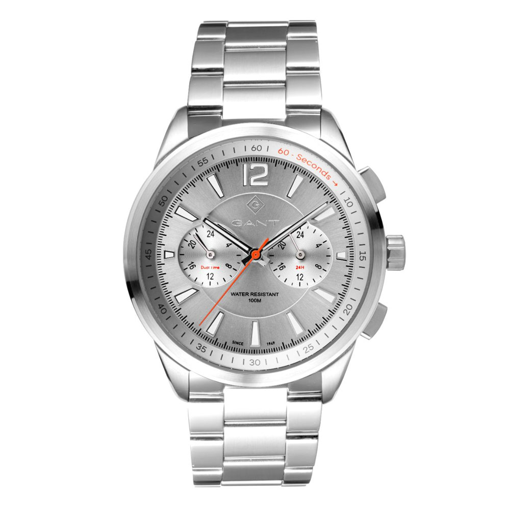 GANT Walworth Silver Stainless Steel Multifunction G144003
