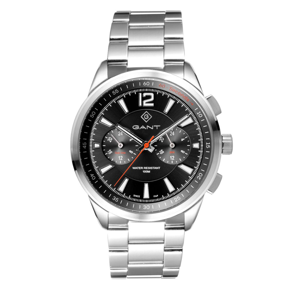 GANT Walworth Silver Stainless Steel Multifunction G144004