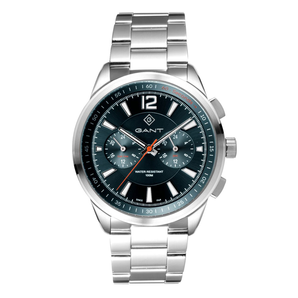 GANT Walworth Silver Stainless Steel Multifunction G144005