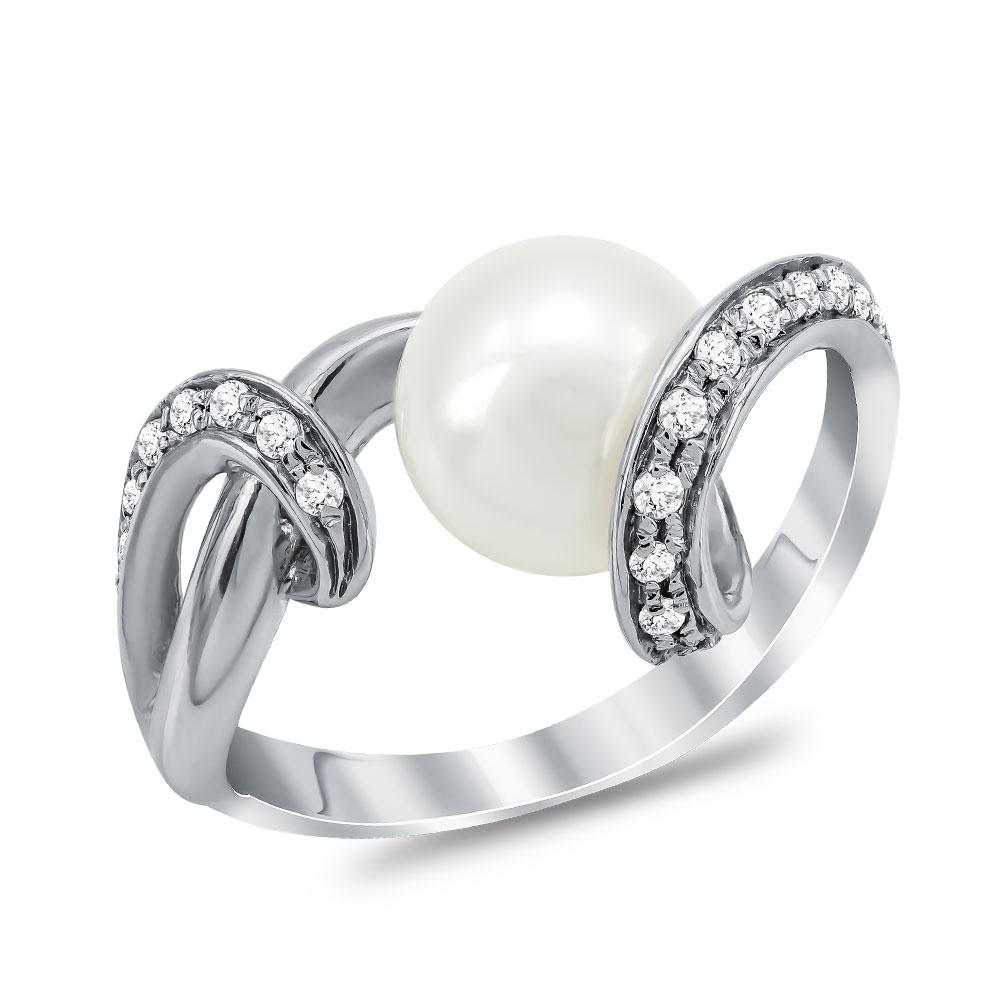 Μονόπετρο Δαχτυλίδι από Λευκό Χρυσό K18 DX019389