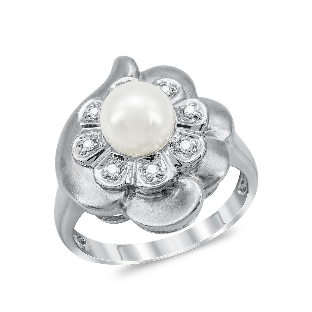 Μονόπετρο Δαχτυλίδι Με Διαμάντια Brilliant από Λευκό Χρυσό K18 DDX286