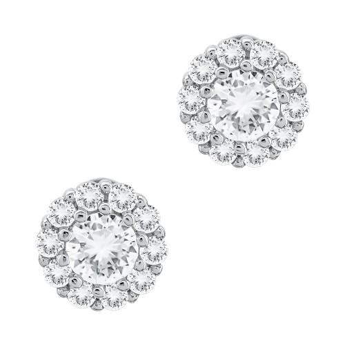 Σκουλαρίκια με Πέτρες απο Ασήμι SK1295