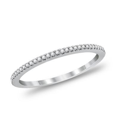 Μονόπετρο Δαχτυλίδι Με Διαμάντια Brilliant από Λευκό Χρυσό K18 DDX296